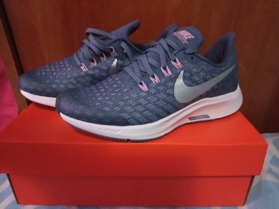 Zapatillas Nuevas Nike Air Zoom Pegasus 35 Talle 35,5
