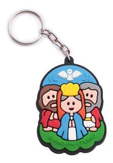 Kit 72 Chaveiro Emborrachado Infantil Santa Terezinha