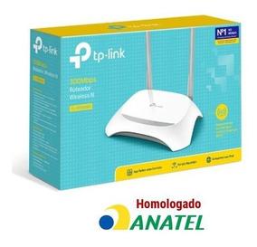 Roteador Wifi Tp-link Tl-wr849n 300mbps Homologado Anatel