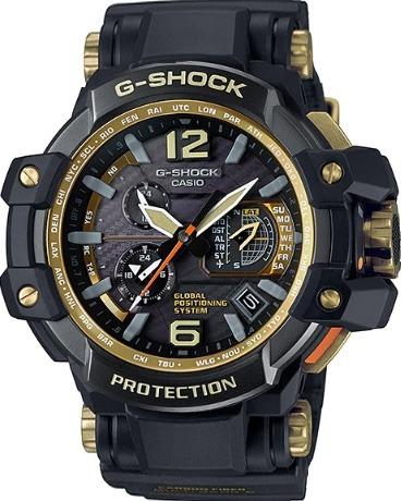 Relógio Casio G-shock Gravitymaster Gps Híbrido Gpw-1000gb-1