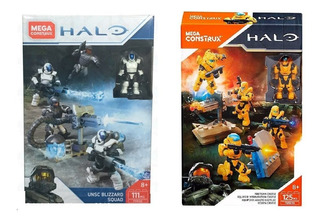 Halo Megaconstrux Pack De 4 Soldados Precio Por Los 2 Oferta