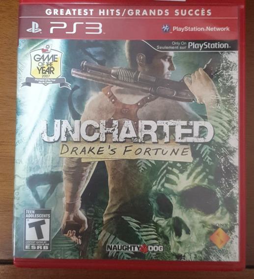 Jogo De Ps3 -uncharted Drake´s Fortune