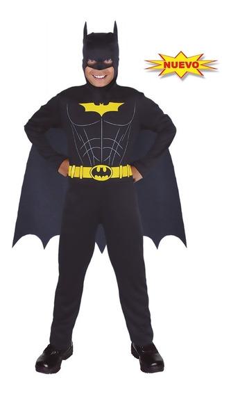 Disfraz De Batman Niño Power Carnavalito -d630