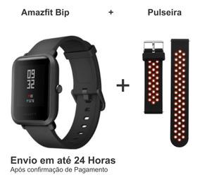 Amazfit Bip Xiaomi Bluetooth-gps/ciclismo,corrida +pulseira