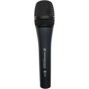 Microfone Dinâmico Sennheiser Super Cardióide Vocais E845