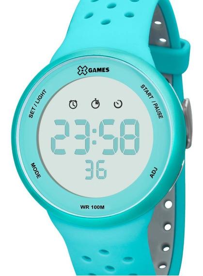 Relógio X-games Unissex Digital Original Azul