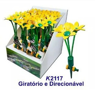 Esguicho Jardim Klorflex - Flor Rotativa