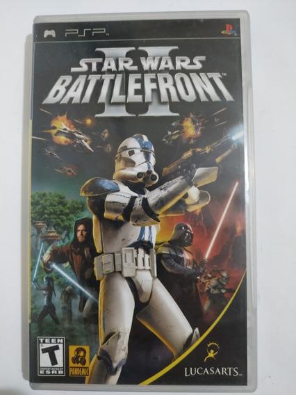 Star Wars Battlefront Ii Original Psp Mídia Física C/ Manual