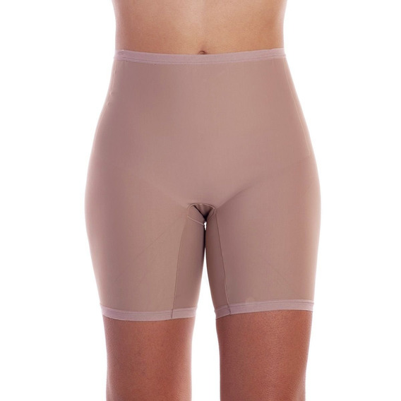 Bermuda Slim Com Elástico Faixa Na Perna E Cintura Dilady.