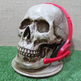 Suporte Headset Cranio Caveira Fone De Ouvido
