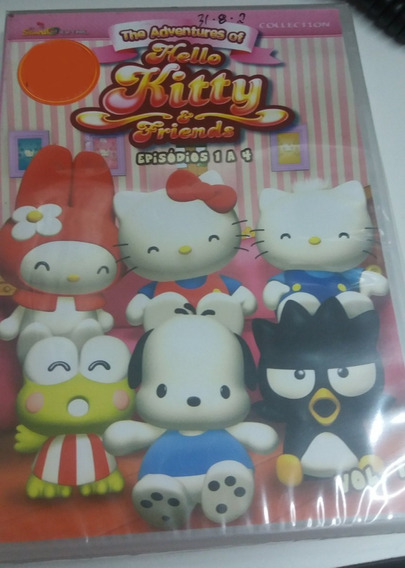 The Adventure Of Hello Kitty & Friends Episódios 1 A 4 Vol.1