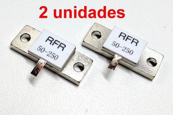 2 Resistor 50 Ohms X 250 W Carga Fantasma Dummy Load Rf