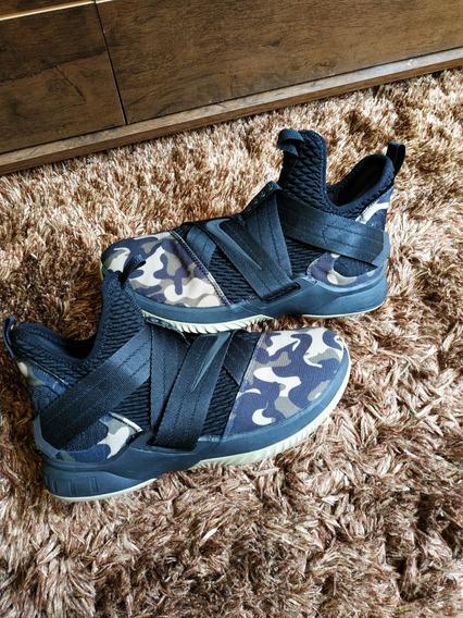 Tênis Nike Lebron James Soldier Camuflado Basquete P/ Entreg