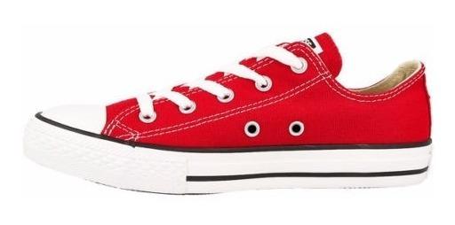 Zapatillas Converse Chuck Taylor All Star Core Ox Niños Rojo