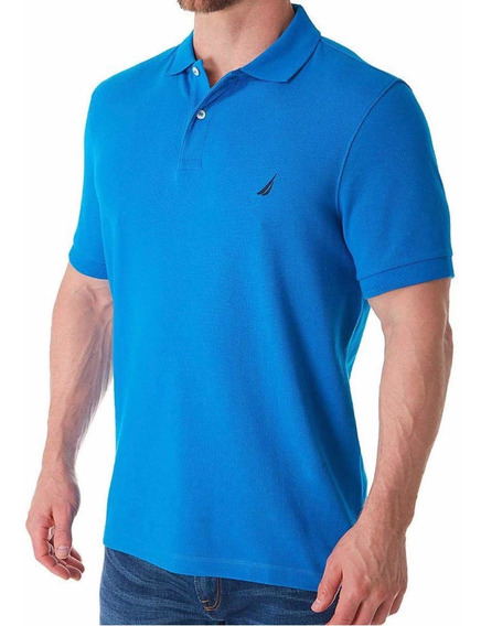 Playera Náutica Classic Fit Performance Deck Shirt Talla L