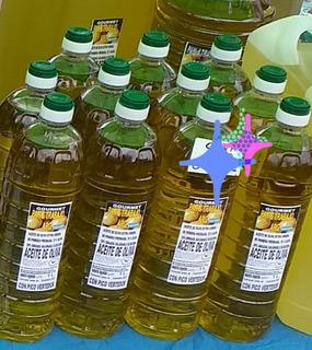 Aceite De Oliva X4 De 1l. Organico Prensada En Frio