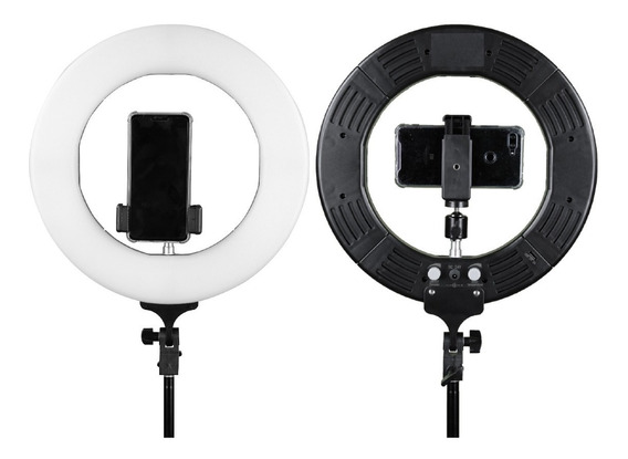 Iluminador Led Ring Light Rl12 Completo