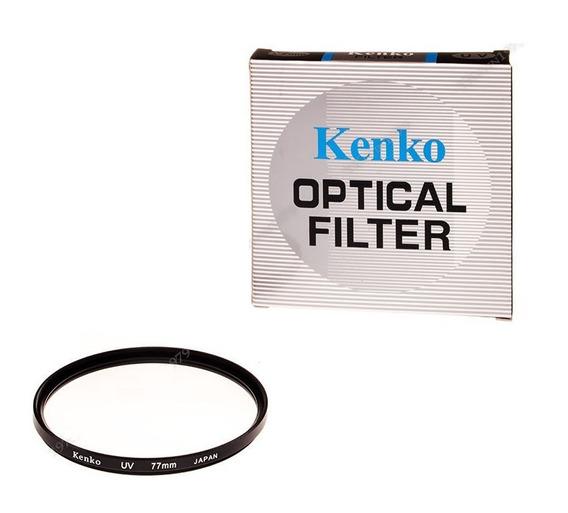 Filtro Protetor Lente Uv 77mm Kenko Canon Nikon Sony