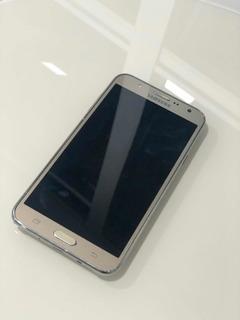 Galaxy J7 Samsung J700m 16gb Dourado Seminovo - Muito Bom