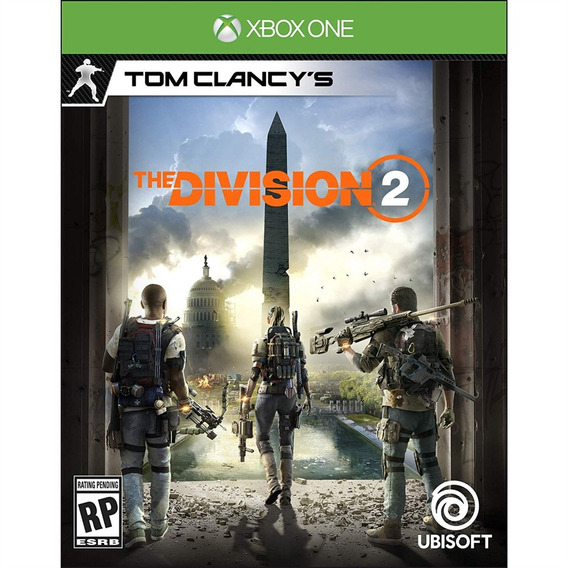 Tom Clancys The Division 2 Xbox One Mídia Física Novo