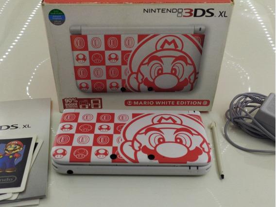 Nintendo 3ds Xl Completo + Sd 32 Gb Com Jogos