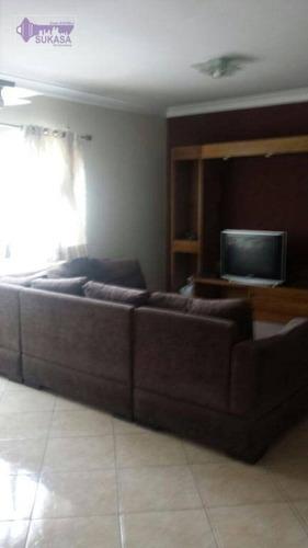 Sobrado Com 3 Dormitórios À Venda, 180 M² Por R$ 500.000,00 - Vila Cecília Maria - Santo André/sp - So0148