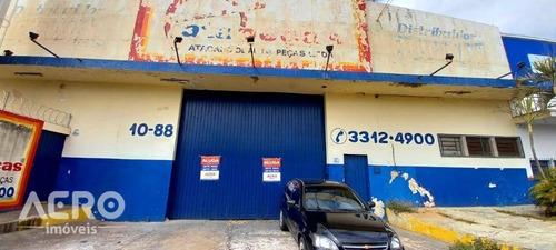 Barracão Com Excelente Localização De Facil Acesso, Ótimo Para Depósito, Com Aproximadamente 1000m² - Ba0215