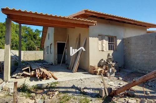 Imagem 1 de 12 de Casa Em Itanhaém Lado Praia 600 Metros Do Mar,suíte 2 Vagas.