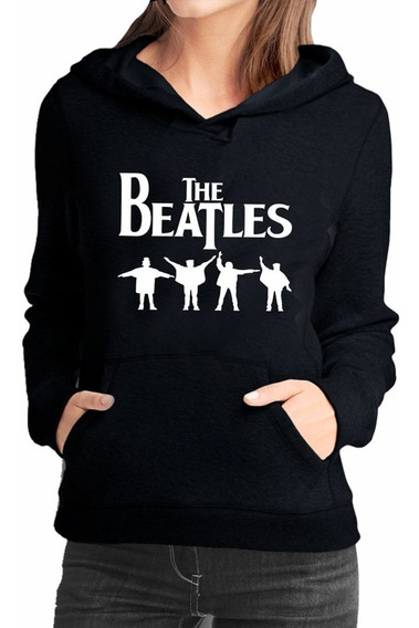 Blusa De Moletom Feminino The Beatles