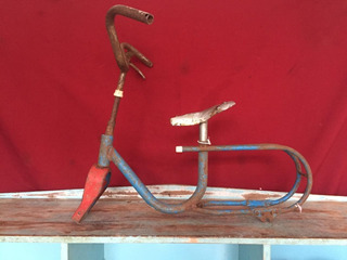 Bicicleta Infantil Bandeirante Aro 12 Para Restauro Cod.3243
