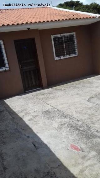 Casa Para Venda Em Araucária, Boqueirão, 2 Dormitórios, 1 Banheiro, 2 Vagas - Ca0542_2-1023142