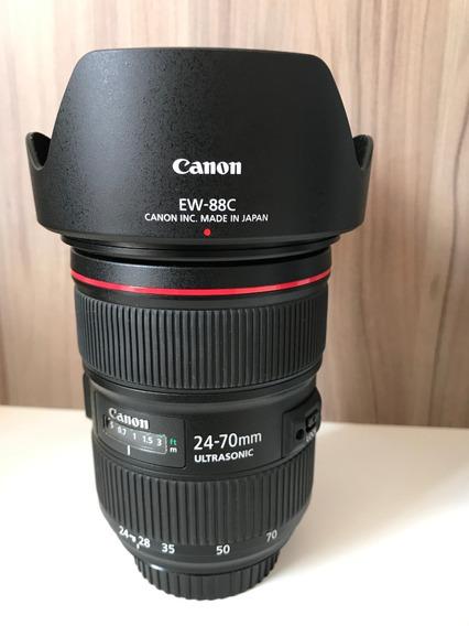 Lente Canon Ef 24 70 F2.8l Ii Usm