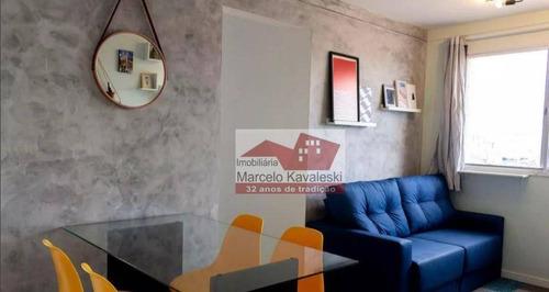Apartamento Com 2 Dormitórios Para Alugar, 41 M² Por R$ 1.850/mês - Cambuci - São Paulo/sp - Ap13471