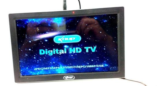 Tv Hd 9 Polegadas Caminhão Carros Usb Card Controle R