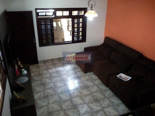 Sobrado Comercial Para Locação, Jardim Nova Taboão, Guarulhos. - Ai7018