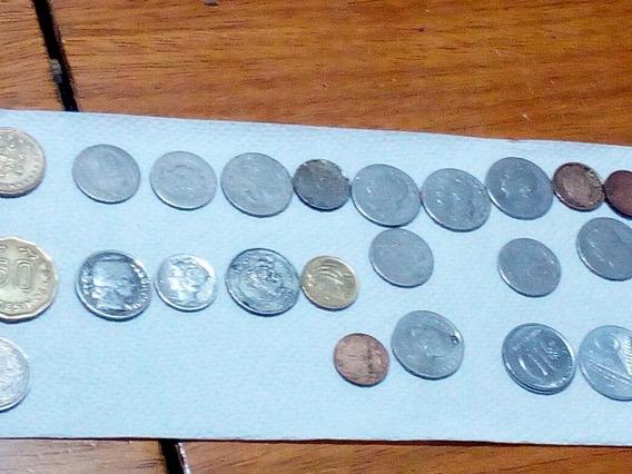 Monedas Argentinas Y Extranjeras.lote