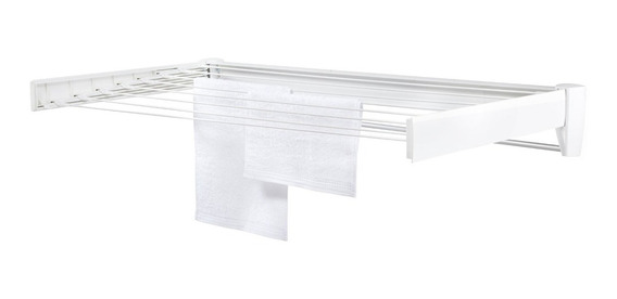 Tendedero De Pared Extensible Leifheit 1mt Para Tender Ropa
