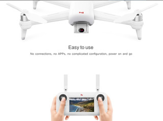 Xiaomi Drone A3 1080p Gimbal + 2 Baterias Nuevas + Mochila