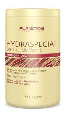 Máscara Banho De Verniz Hydraspecial Plancton 1kg
