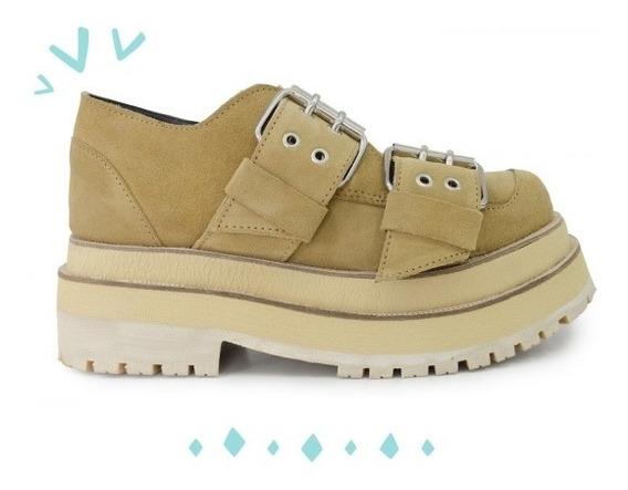 Zapatos Sofía De Grecia Kenny Tom Camel 38 Base Intermedia