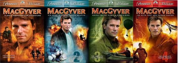 Macgyver + Batman / A Série Completa + Filme De 1966