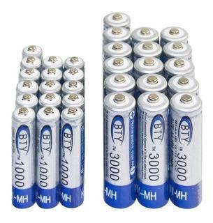 Pilas Baterías Recargables Aa Y Aaa Local Por El Bosque