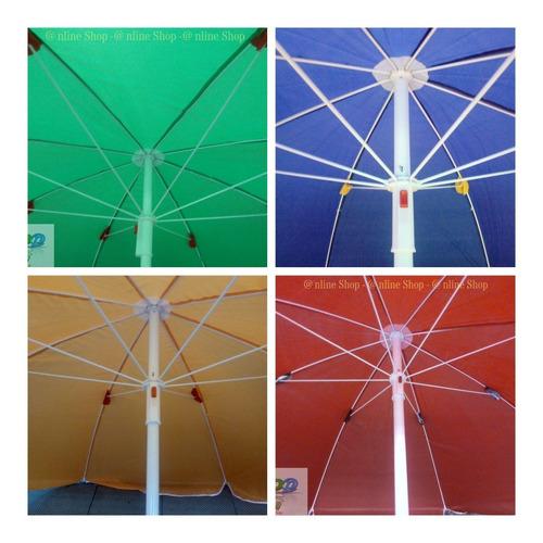 Parasol Sombrilla 92 Cms Alt  Impermeable Tela Elije Color