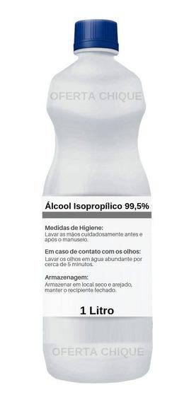Kit C/ 1 Litro Alcool Isopropilico - Limpa Placa / Contato