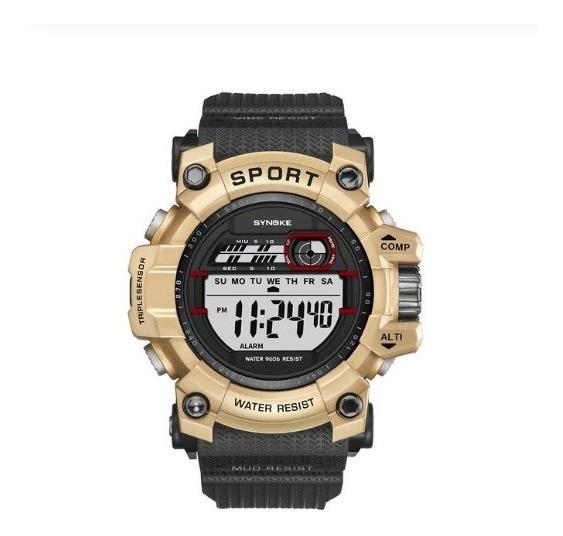 Relógio Masculino Digital Multi-função Led Esporte Militar