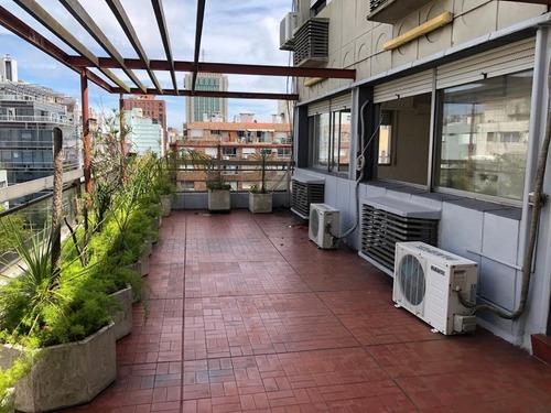 Gran Oficina De 119 M2 Con Terraza De Uso Exclusivo De 40m2