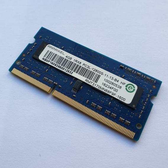Memoria Notebook 4gb Ddr3 1600 Ramaxel