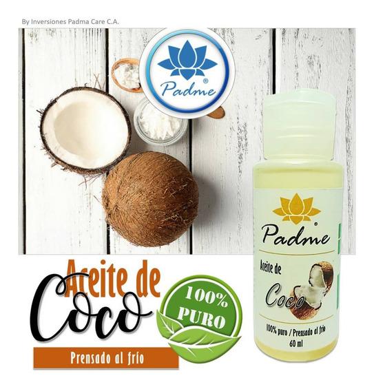 Aceite De Coco Comestible Y Cosmetico, 100% Natural