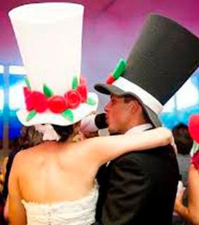 Sombreros En Espuma Para Fiestas Y Carnaval