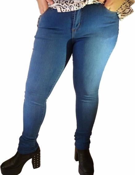Pantalón De Jeans Talles Grandes, Mujer, Señora, 40 Al 54